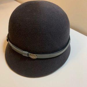 Goorin Bros. Women's wool cloche hat dark grey